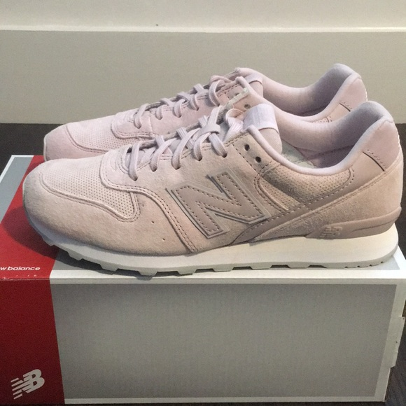 new balance 696 suede pink